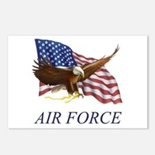 USAF Air Force Postcards (Package of 8)