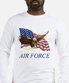 USAF Air Force Long Sleeve T-Shirt