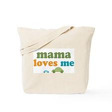 Mama Loves Me Cars Tote Bag