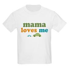Mama Loves Me Cars T-Shirt