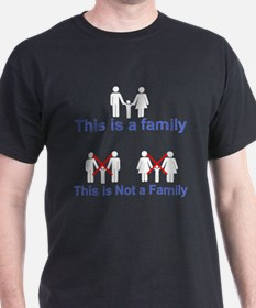 this is not a family T-Shirt