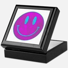 Happy FACE Turq EYES Keepsake Box