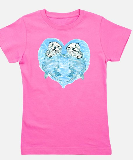 Unique Otters Girl's Tee