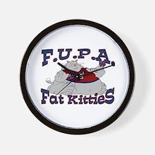 F.U.P.A. Wall Clock