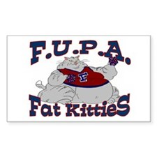 F.U.P.A. Rectangle Decal