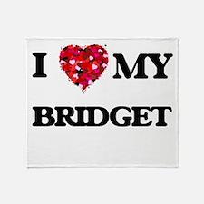 I love my Bridget Throw Blanket