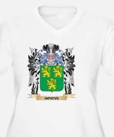 Horan Coat of Arms - Family Cres Plus Size T-Shirt