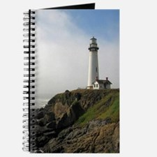 Lighthouse on Cliff Journal