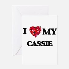 I love my Cassie Greeting Cards