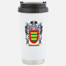 Hoskinson Coat of Arms Travel Mug