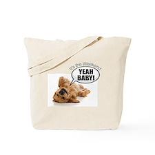 Cute Hairy dog kid Tote Bag
