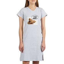 Cute Hairy dog kid Women's Nightshirt