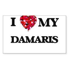 I love my Damaris Decal