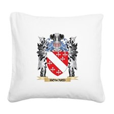 Howard Coat of Arms - Family Square Canvas Pillow