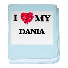 I love my Dania baby blanket