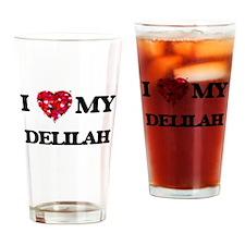 I love my Delilah Drinking Glass