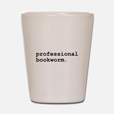 Professional Bookworm Shot Glass