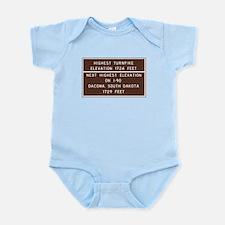 Highest Turnpike Elevation, Massac Infant Bodysuit
