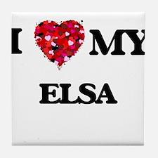 I love my Elsa Tile Coaster