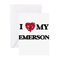 I love my Emerson Greeting Cards