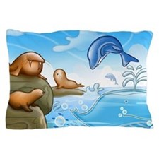 drawings for kids Pillow Case