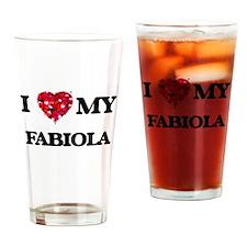 I love my Fabiola Drinking Glass