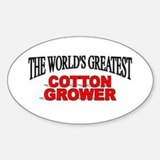 """The World's Greatest Cotton Grower"" Decal"