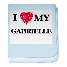 I love my Gabrielle baby blanket
