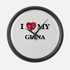 I love my Giana Large Wall Clock