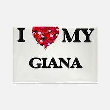I love my Giana Magnets