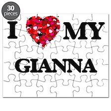I love my Gianna Puzzle