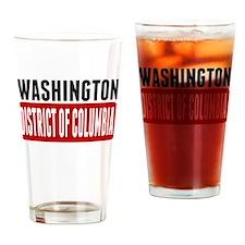 Washington District of Columbia Drinking Glass