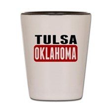 Tulsa Oklahoma Shot Glass