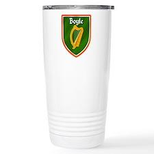 Boyle Family Crest Travel Mug