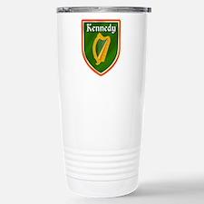 Kennedy Family Crest Stainless Steel Travel Mug
