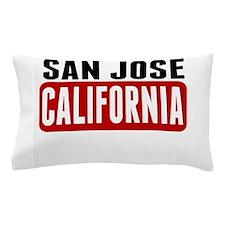 San Jose California Pillow Case