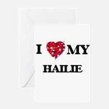 I love my Hailie Greeting Cards