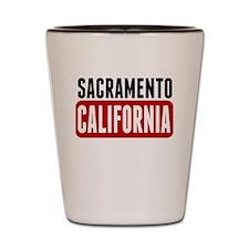 Sacramento California Shot Glass