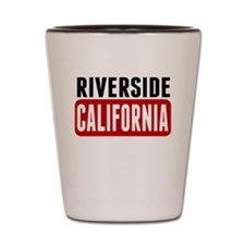 Riverside California Shot Glass