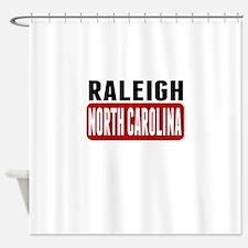 Raleigh North Carolina Shower Curtain