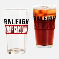 Raleigh North Carolina Drinking Glass