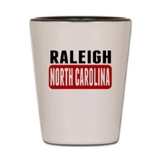 Raleigh North Carolina Shot Glass