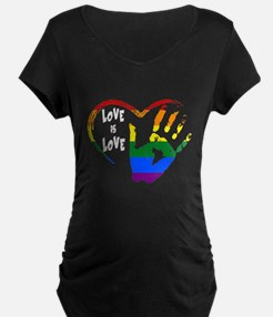 love is love1 Maternity T-Shirt