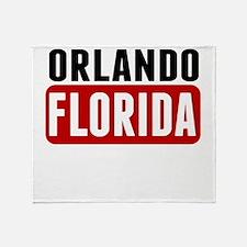 Orlando Florida Throw Blanket