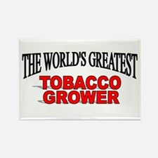 """""""The World's Greatest Tobacco Grower"""" Rectangle Ma"""