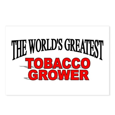 """The World's Greatest Tobacco Grower"" Postcards (P"