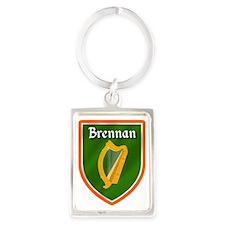 Brennan Family Crest Keychains