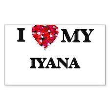 I love my Iyana Decal
