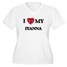 I love my Iyanna Plus Size T-Shirt