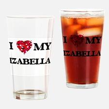 I love my Izabella Drinking Glass